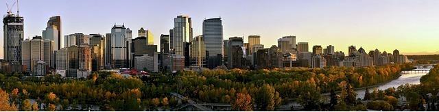 CWAN Canadas Housing Boom Nearing End - Calgary Skyline